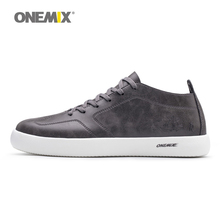 Onemix Новая мужская обувь для скейтбординга модные легкие крутые кроссовки для скейтбординга для прогулок для мужчин из микрофибры Размер 39-45