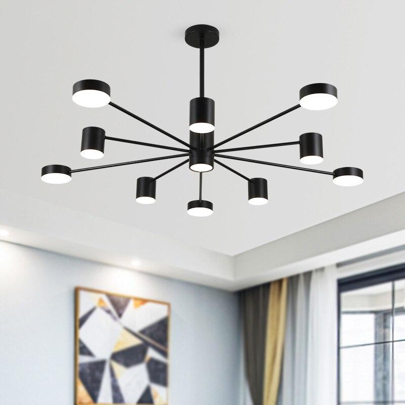JAXLONG Nordic стиль Гостиная Подвесные лампы для ресторана Декор открытый подвесные светильники Современное Домашнее освещение свет кухня свет