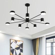 JAXLONG Nordic Style Living Room Pendant Lamp Restaurant Decor Lights Modern Home Lighting Light Kitchen Fixtures