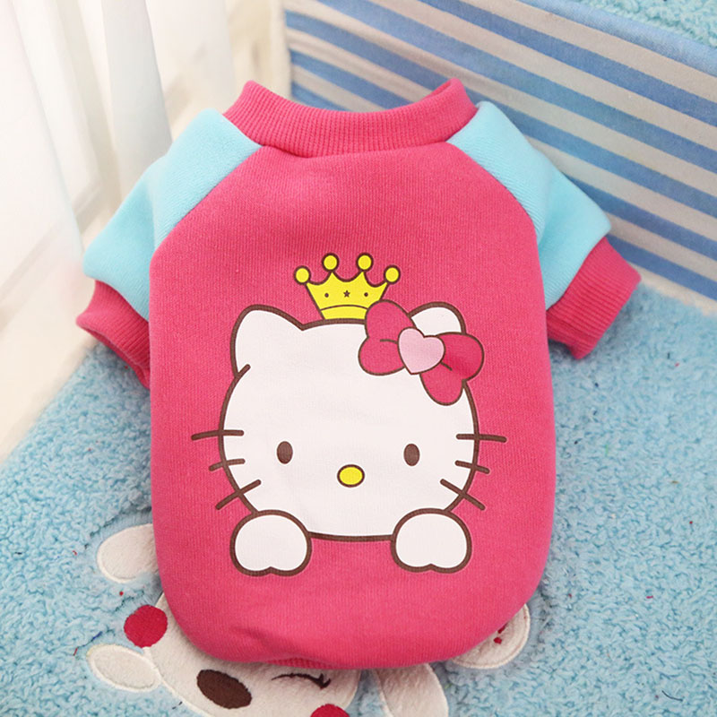 2019-New-Warm-Cat-Clothes-Autumn-Winter-Pet-Clothing-for-Cats-Rabbit-Soft-Fleece-Kitten-Kitty(4) -
