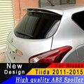 Для Nissan Tiida 2011 до 2015 спойлер на крыше Высокое качество ABS спойлер праймер или любой цвет задний спойлер для Nissan Tiida