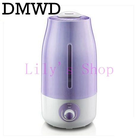 Electric Air humidifier Ultrasonic Humidifier Aromatherapy mute Zero radiation essential oil mist maker Diffuser Purifier EU US