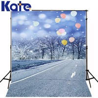 New Arrival Background Fundo Highway Snow Balloon 300Cm*200Cm(About 10Ft*6.5Ft) Width Backgrounds Lk 2284
