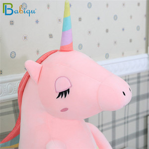 Image 5 - 1pc 60 160cm Kawaii Regenboog Eenhoorn Knuffels Knuffeldier Paard Pluche Pop voor Kinderen Kids Sussen speelgoed Cadeau voor Meisjes