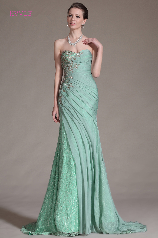 Plus Size Prom Dresses Mint Green