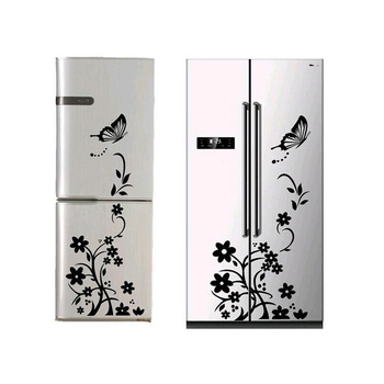 2018 High Quality Wall Sticker Creative Refrigerator Sticker Butterfly Pattern Wall Stickers Home Decor Wallpaper Free Shipping 1