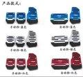 Стайлинга автомобилей Газ Педали Тормоза чехол Для Hyundai iX45 iX25 i20 i30 Соната, Verna Solaris, Elantra, акцент