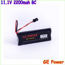 1pcs GE Power Rc lipo font b Battery b font 11 1v 2200mAh 8C 3S 3PK