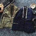 New Fashion designer fresco dos homens do quimono japonês roupas streetwear kanye west jaqueta outwear jaquetas casuais cor de areia e preto