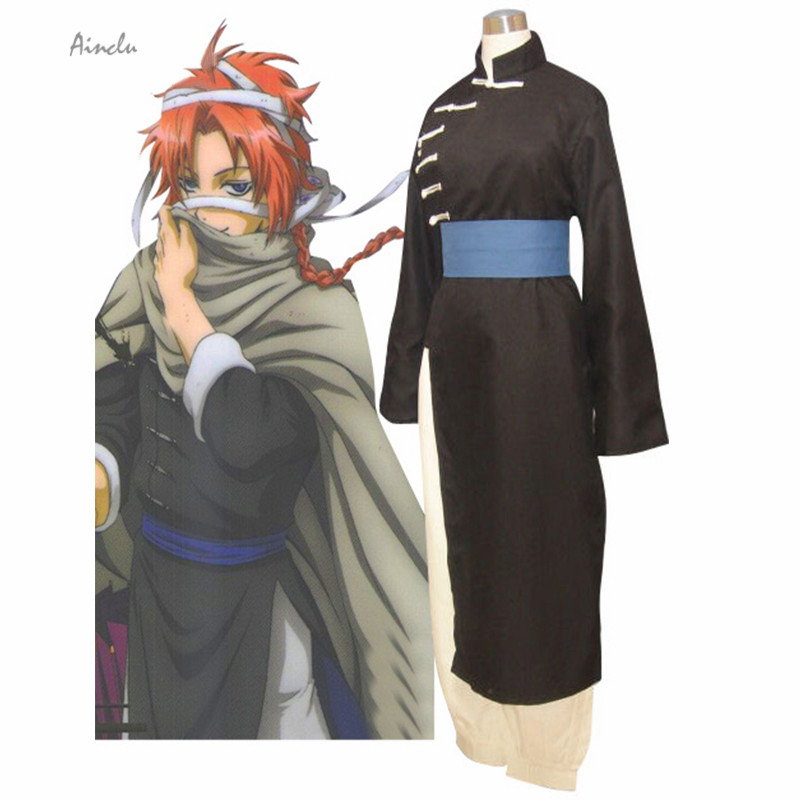 Ainclu Free Shipping Gintama Gin Tama Kamui Halloween Cosplay Costume For Kids and Adult costume