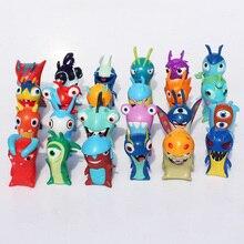 2016 24pcs/set Movie Anime Cartoon Slugterra Brinquedos PVC Action Figures Toys Dolls Child Toys
