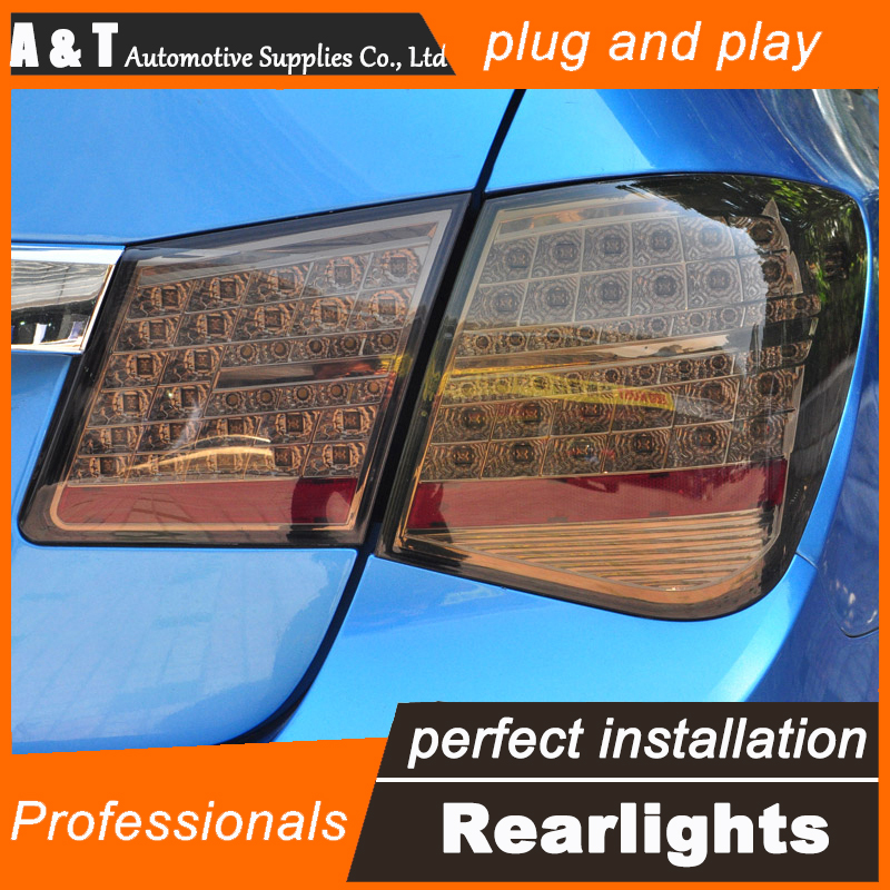 Car Styling for Chevrolet Cruze Taillights Benz Design 2012-2015 Cruze LED Tail Lamp Rear Lamp DRL+Brake+Park+Signal led light. hireno tail lamp for mercedes benz w220 s280 s320 s350 s500 s60 1998 05 led taillight rear lamp parking brake turn signal light