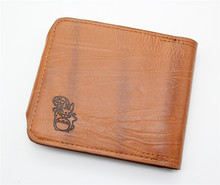My Neighbor Totoro – Brown Leather Short Billfold Wallet