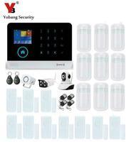 Yobang Security Wifi IP Camera Security Camera Wireless GSM Alarm System WIFI APP Control Alarm Mini
