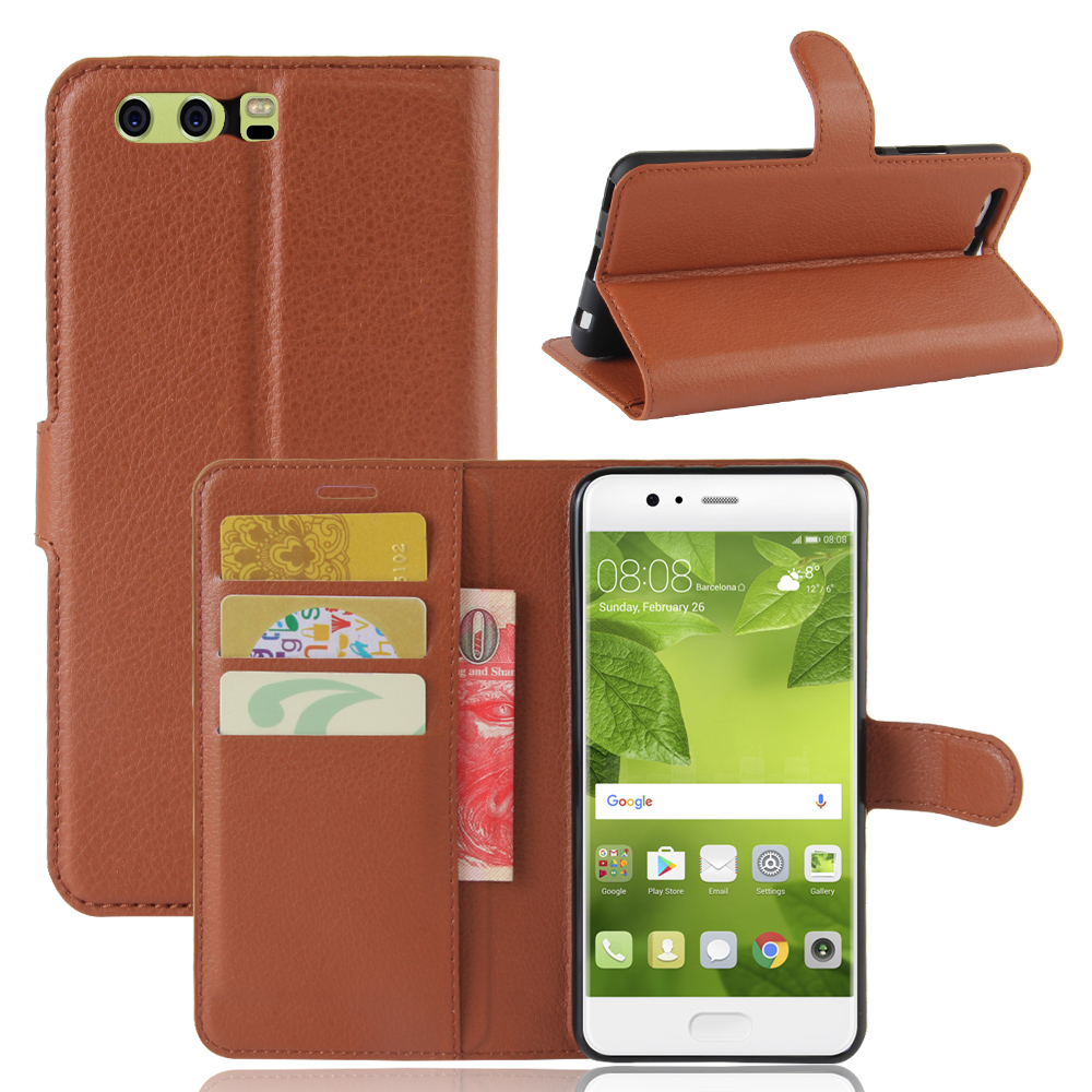 Case For Huawei P10 Plus Luxury Wallet PU Leather Case For Huawei P10Plus VKY-L29 VKY-L09 Stand Flip Card Hold Phone Cover Bags