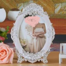Oval 7 - inch photo frame furnishings European style creative wedding pendulum home decoration