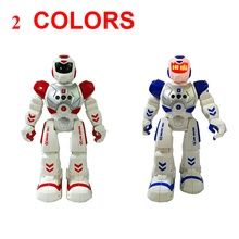 Combatant  Induction robot Space Dancing Humanoid Robot Toy With Light Children Pet  Electronics Jouets Electronique for Boy Ki