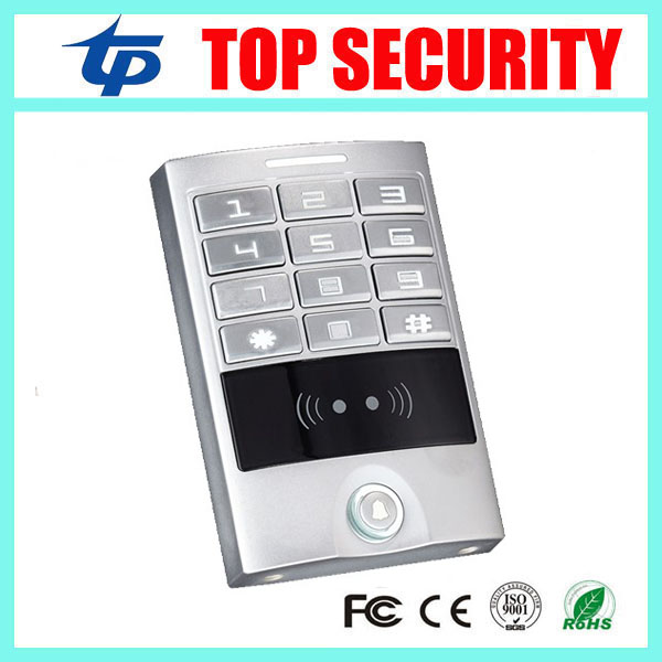 цена Standalone smart card access control system 125KHZ RFID card access control keypad IP65 waterproof weigand access controller
