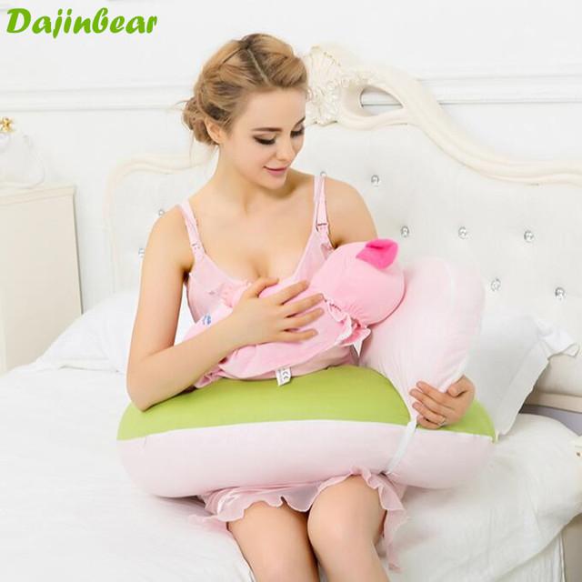 Marca Do Bebê Travesseiro De Enfermagem Travesseiro De Enfermagem Algodão U-Forma Ergonômico Macio Infantil Amamentação Travesseiro Sentado Aprendizagem Travesseiro