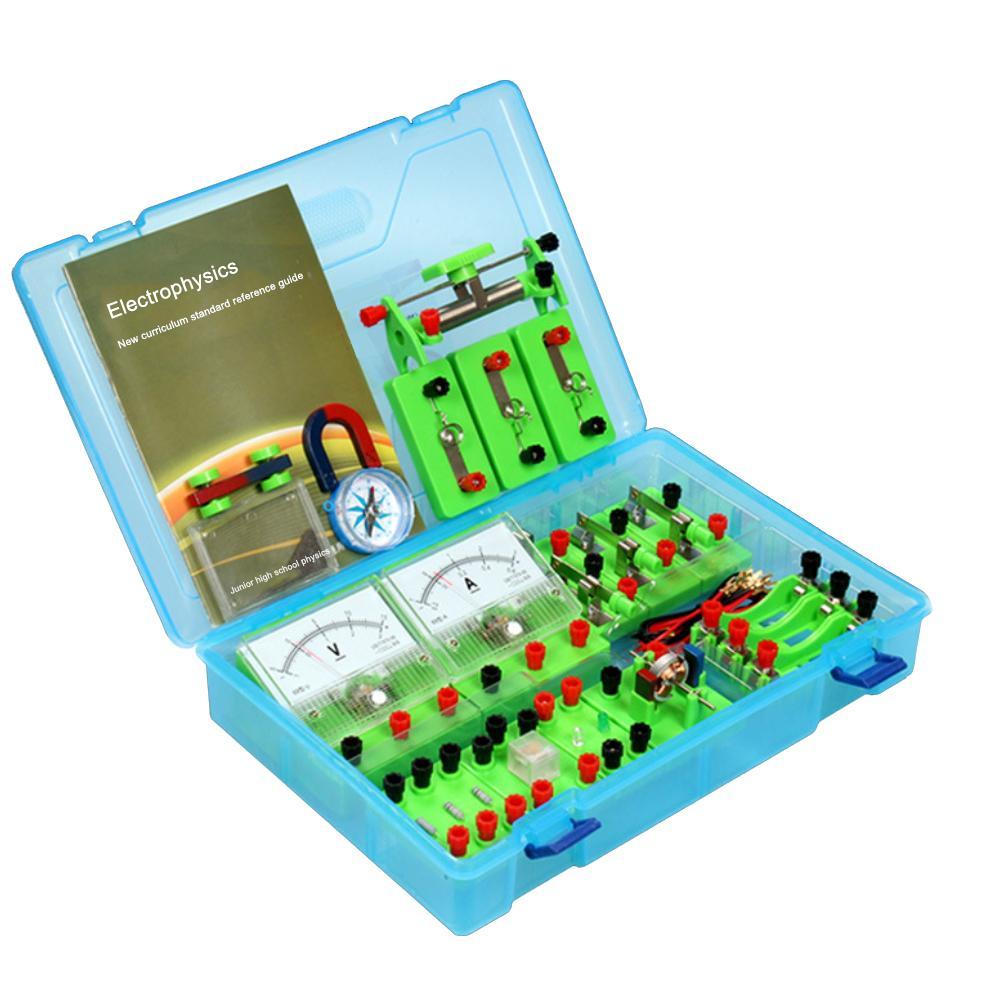 Nouvelle Physique Laboratoires D'électricité Circuit Magnétisme Kit D'expérimentation pour Junior High School