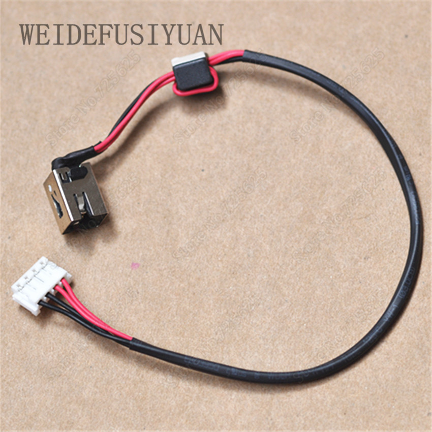 DC Power Jack Socket Connector Wire Harness for Lenovo G580 G585 new dc power jack socket connector wire harness for laptop dell inspiron 15 3558 5455 5000 5555 5575 5755 5758