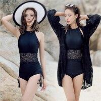 One Piece Swimsuit Big Size Female Swimwear Bodysuit Beachwear Woman Beach Wear Skirt Push Up Sexy Dress Maillot De Bain Une