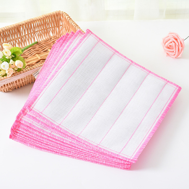 US $4.89 30% OFF|Aliexpress.com : Buy 5Pcs Kitchen Towels Cotton Washing  Towels Classic Lattice Non stick Oil Dish Towel High Quality Daily ...