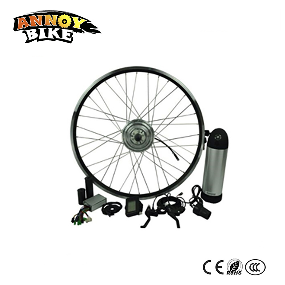 20-700C(28) wheel 36V 250w electric bicycle conversion kit electric wheel motor spokes motor ebike kit with 12ah Bottle batter eunorau 48v500w electric bicycle rear cassette hub motor 20 26 28 rim wheel ebike motor conversion kit