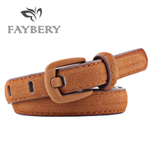 Luxury  Woman Suede Leather Belts for Women Metal Pin Buckle Belt Casual Jeans High Quality Brand Female Strap 8 Colors