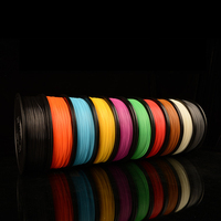 3D printer filament PLA 3.0mm material kinds of colors Creatbot 3d printer factory roll 1KG/spool