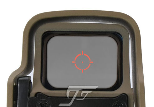 JJ Airsoft 3x Magnifier și 55X 5x8 Red / Green Dot (TAN) Cumpara One Get One Un Killflash / Kill Flash GRATUIT