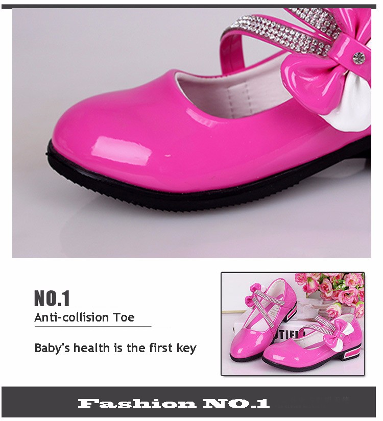x3 girls shoes bow branded