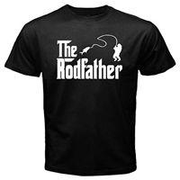 The Rodfather Pelagic Abu Fishingergear Redding Reel Fisherman Tackle Carp T Shirt 2018 Fashion Short Sleeve Black T Shirt