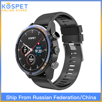 KOSPET HOPE 3GB 32GB Android7.1.1 4G 8.0MP 1.39 Smartwatch Men 620mAh IP67 Waterproof Ceramic Smart Watch Phone For IOS Android