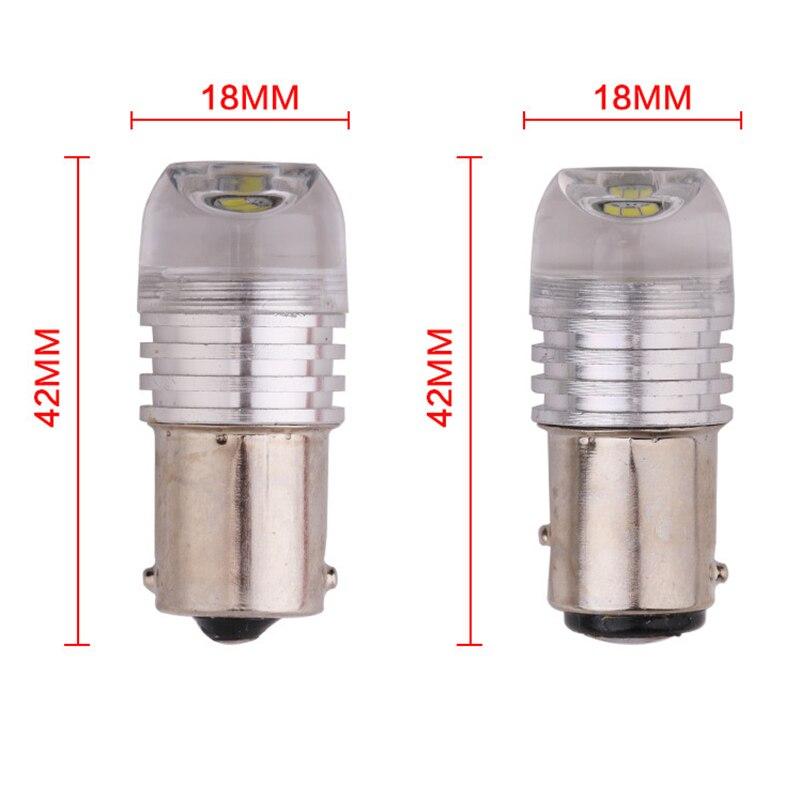 100pcs 1157 Led BAY15D P215W 1156 BA15S Strobe Flash Light Brake Blink Light Lamp Bulb 12V Red White Blue Auto Tail Stop Light (3)