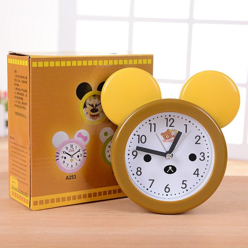 New Creative Styling Revolver Digital Alarm Clock Home Decor Clocks