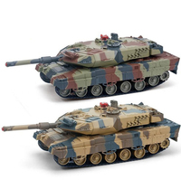 2pcs /set Simulation RC Battle Tank Toy HQ558 Battle Model Tank Toy can Automatic demonstration kid best gift toy educational to