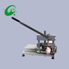Stainless steel manual saw bone cutting machine Cut pork chop bone trotters Meat slicer making machine