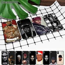 M365 50 Cent Black Soft TPU Silicone Case Cover For Apple iPhone 11 Pro XR XS Max X 8 7 6 6S Plus 5 5S 5G SE