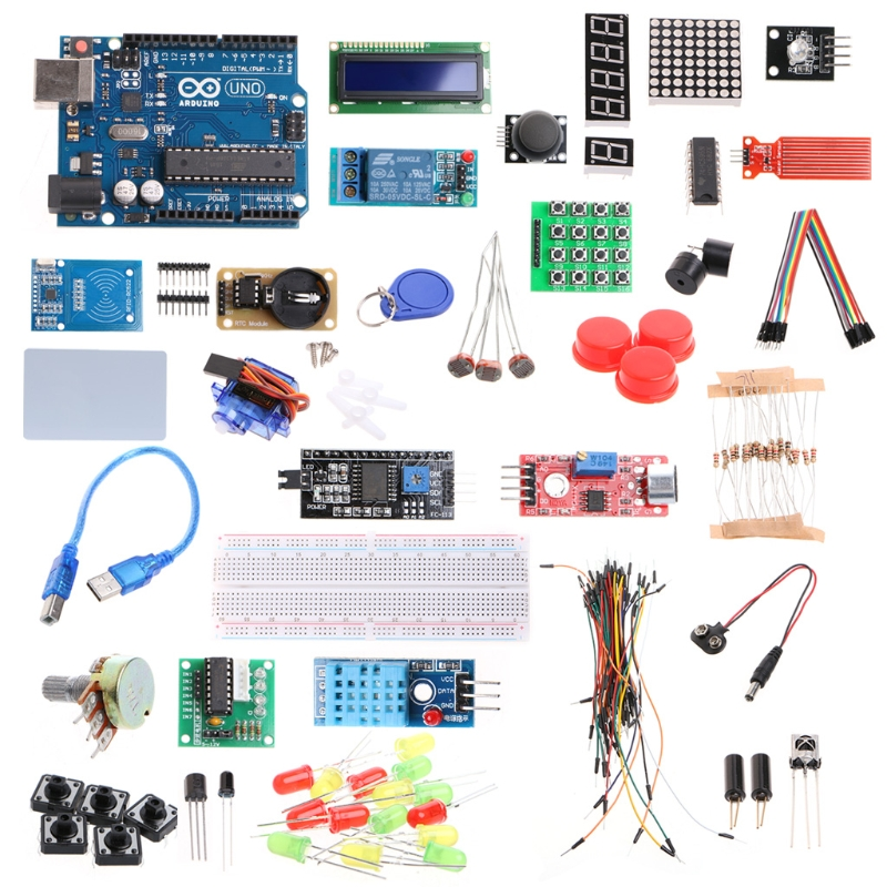 New 2017 Original UNO R3 Starter Kit Upgraded Version Learning Suite For Arduino geekcreit™ uno basic starter learning kit upgrade version for arduino