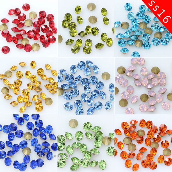 40 Crystal Glass 13x10mm Twisted Barrel Beads Pick You Colour