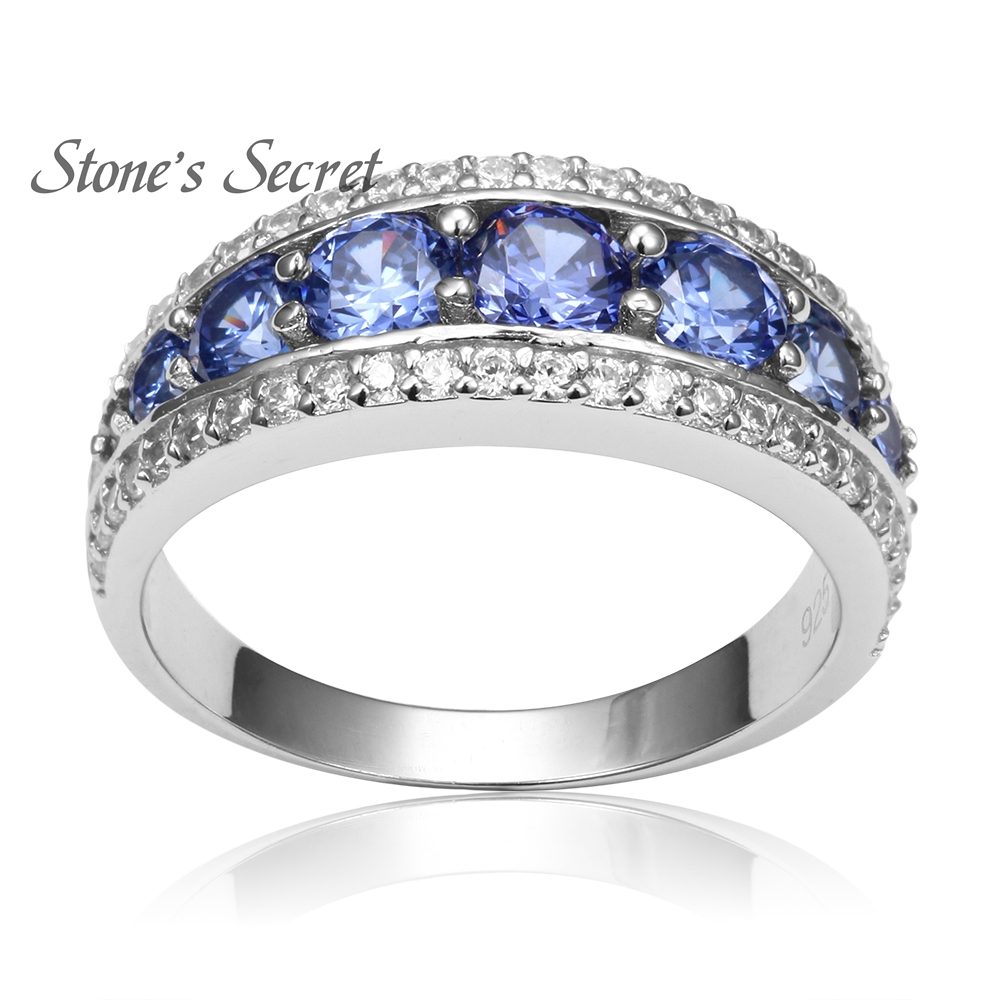 sterling moncoeur ring violette engagement women bands rings for pin promise tanzanite wedding silver