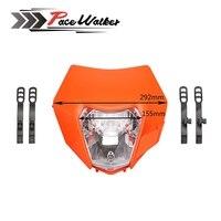 2015 2016 Motorcycle Dirt Bike Motocross Supermoto Universal New Headlight For KTM SX EXC XCF SXF