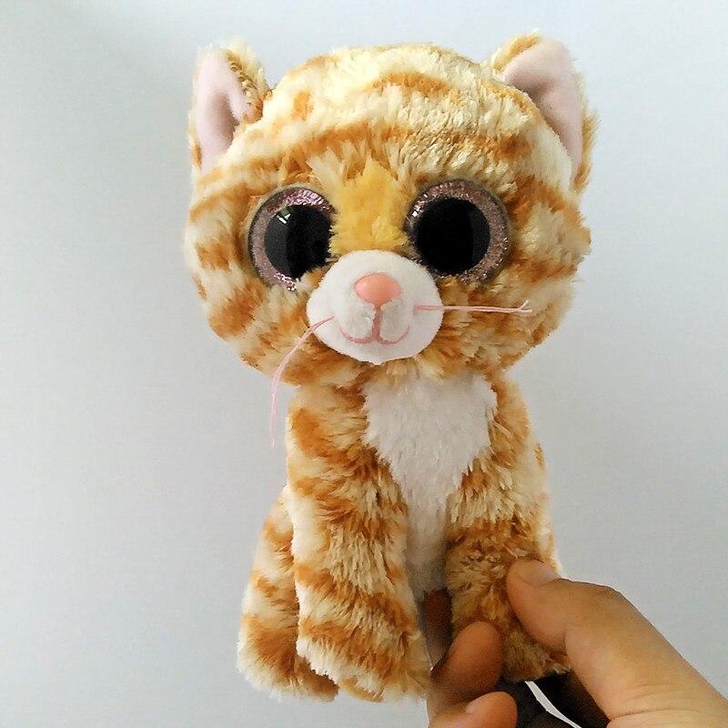 6 15 см Beanie Боос большие Средства ухода для век милые табита кошка детские плюшевые игрушки куклы Мягкие Коллекционная мягкая большой Средст...