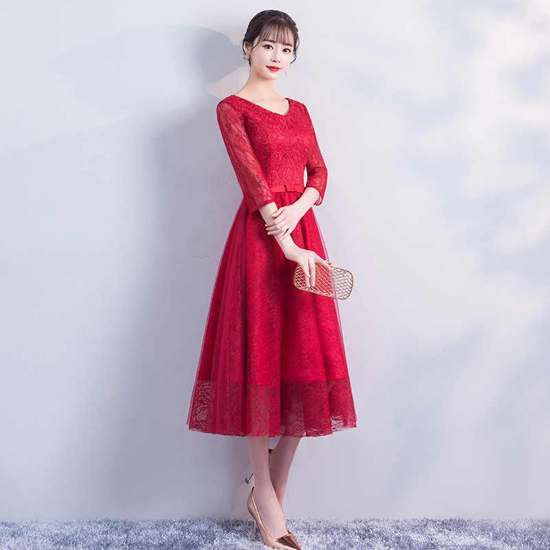 Neue Frühjahr Cheongsam Kleid Mode Chinesischen Stil Qipao Orientalischen Frauen Elegante Robe Party Kleider Vestido Größe S-XXL