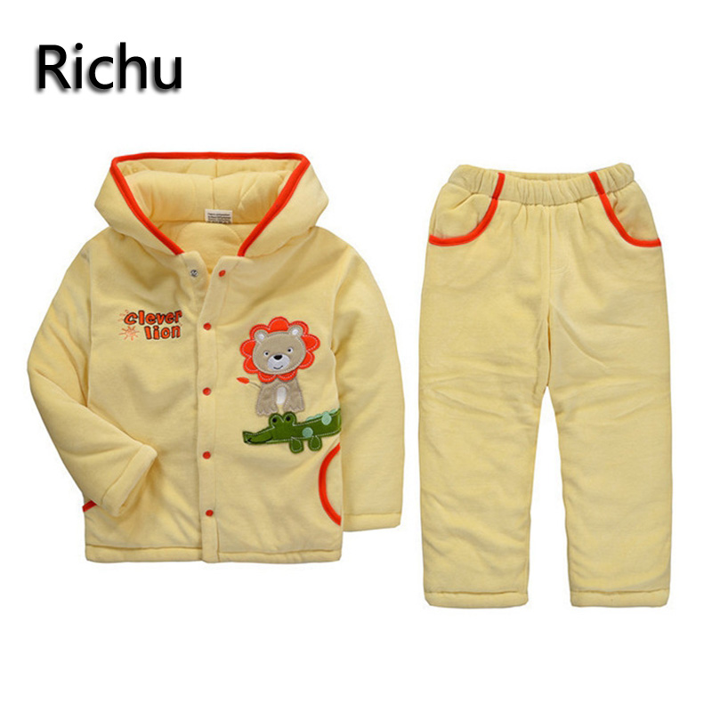 thermal zero thick warm flannel clothes sets kids winter outfits girls clothing sets baby sport suits toddler housewear bear hat winter baby girl clothes set kids clothing sets thick warm baby coats pants 2pcs kids suits flower toddler baby clothes outfits