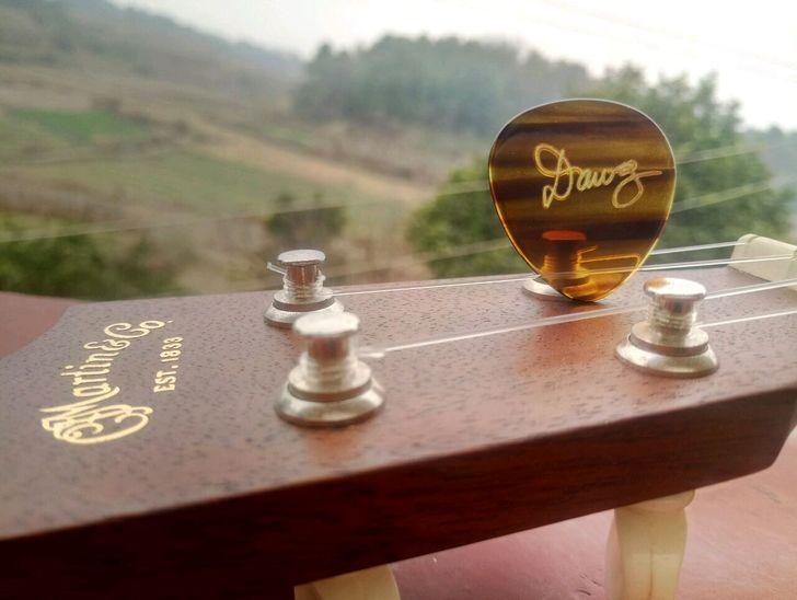 QCYQ David Grisman's Dawg Pick For Mandolin Player, Tommy Emmanuel's Flatpick