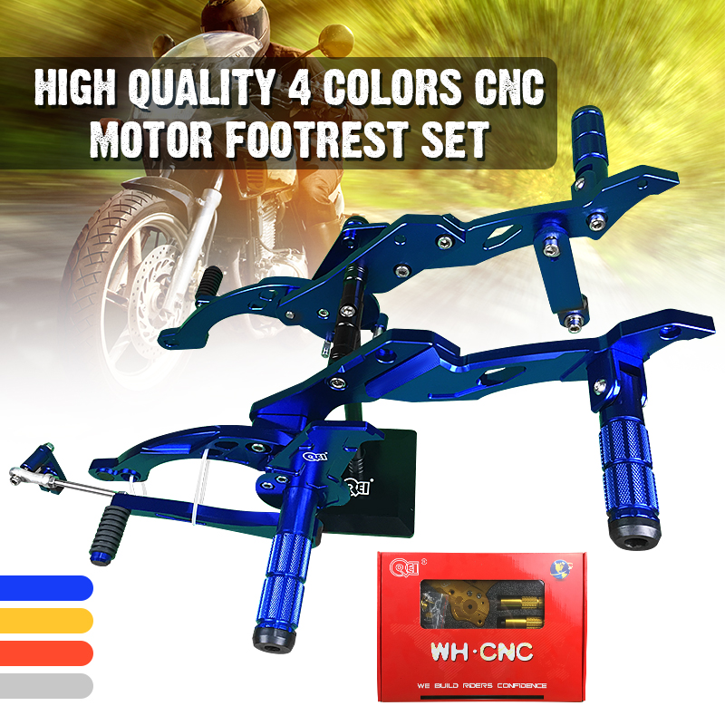 Full Set Shifter For Raider 150: Motorcycle Accessories 4 Colors CNC Adjustable Rearsets