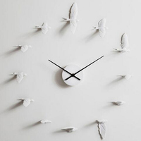 New Swallow Handcraft Clock Model Modern Design Wall Clock Good Gift High Quality Home Decoration Product Figure Toys
