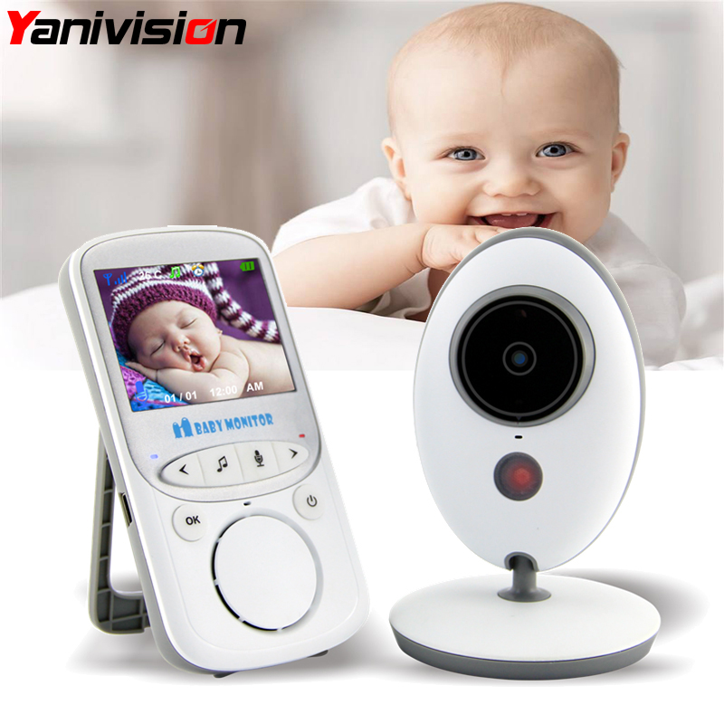 font b Wireless b font LCD Audio Video Baby Monitor VB605 Radio Nanny Music Intercom